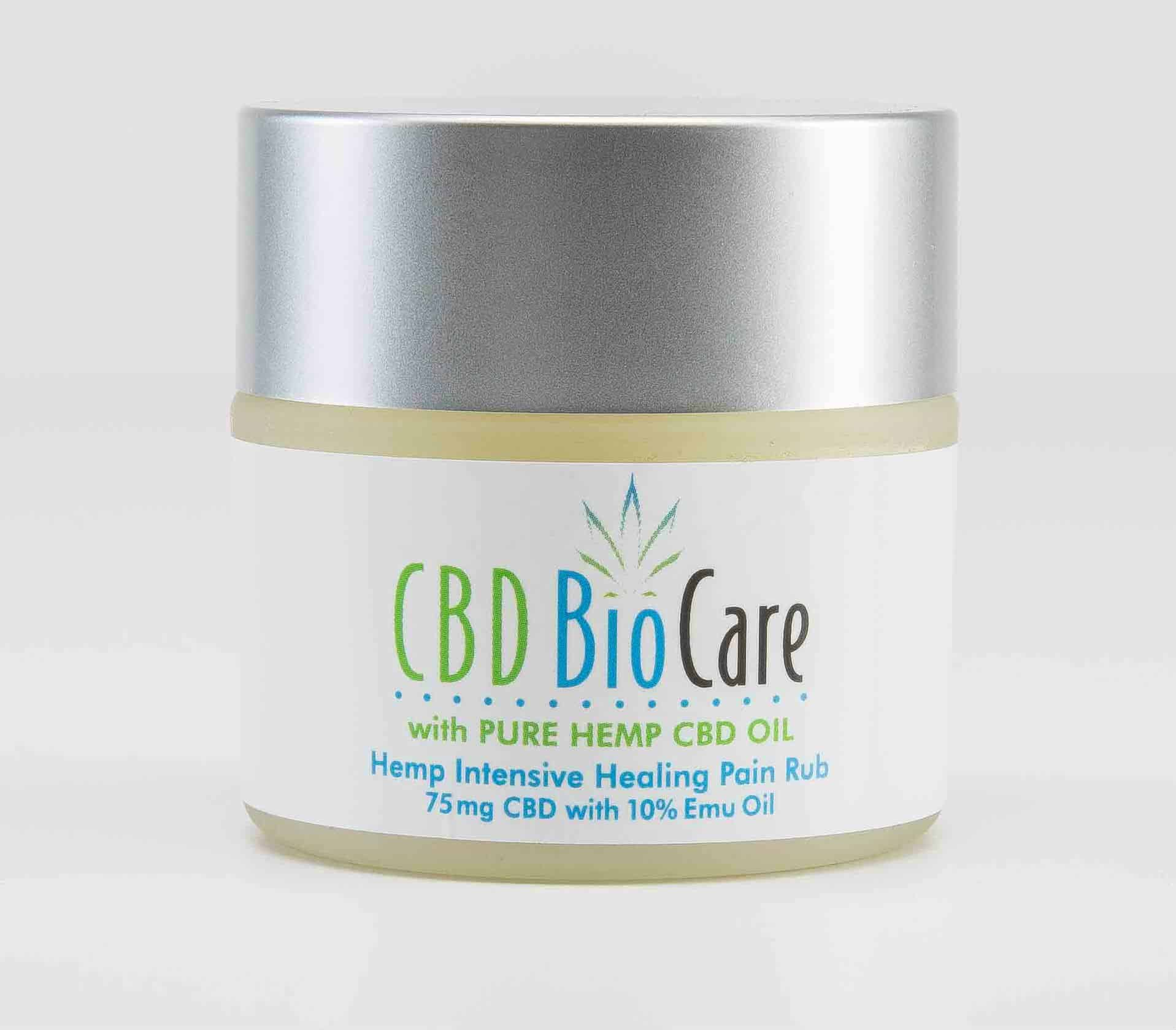 CBD BioCare Pain Rub With Emu Oil